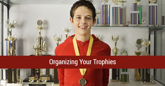 ... are some great ideas on how to organize your achievements with flair